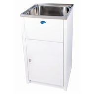 Everhard 45L NuGleam Slim Laundry Trough And Cabinet
