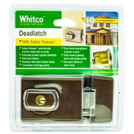 Whitco Bronze Plated Double Cylinder Deadlatch