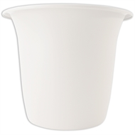 HomeLeisure 350mm White Balconia Round Pot