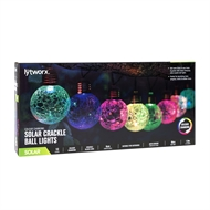 Lytworx Solar Crackle Ball Lights - 10 Pack