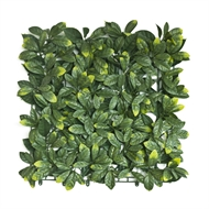 UN-REAL 50 x 50cm Photinia Green Artificial Hedge Tile