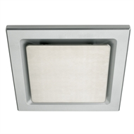 Heller 250mm Square Stainless Steel Exhaust Fan