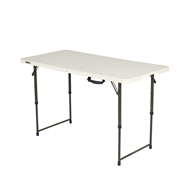 Lifetime 4ft Bi-Fold Blow Mould Trestle Table