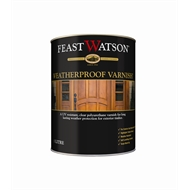 Feast Watson Weatherproof 1L Gloss Clear Timber Varnish
