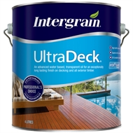 Intergrain 4L UltraDeck Natural Water Based Decking Oil