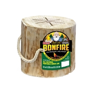 All Natural Bonfire Log with Handle