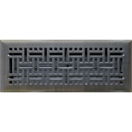 Accord 10 x 30cm Oil Rubbed Bronze Wicker Floor Register