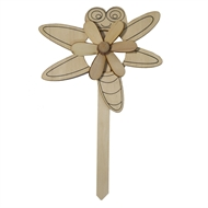 Boyle Garden Windmill Craft Kit -  Dragonfly