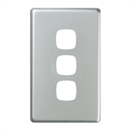 HPM EXCEL 3 Gang Coverplate