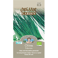 Mr Fothergill's Polycross Chives Organic Seeds