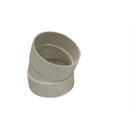 Holman 75mm 22° F-F PVC Stormwater Elbow
