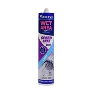 Selleys Wet Area 300g Speed Seal Clear Sealant