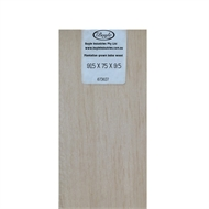 Boyle 915 x 75 x 9.5mm Balsa Wood Sheet