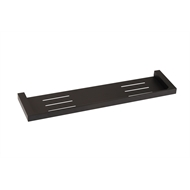 Mondella 450 x 110mm Matte Black Vivace Shower Shelf