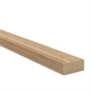 InBuilt 38 x 17mm 2.7m Natural Wood Melamine Colourboard Batten