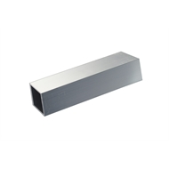 Metal Mate 25.4 x 25.4 x 1.2mm 1m Aluminium Square Box Tube