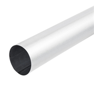 Fielders 2.4m 75mm Round Zinc Pipe