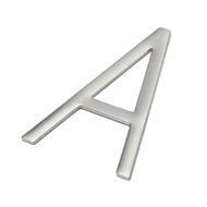 Sandleford 85mm Stainless Steel Self Adhesive Neo Letter A