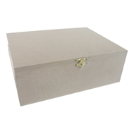 Boyle Large Craft Timber Box With Catch