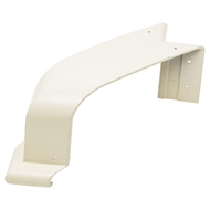 COLORBOND 115mm 90 Degree Quad Gutter Internal Cast Corner - Classic Cream