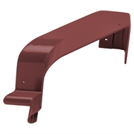 COLORBOND 115mm 90 Degree Quad Gutter Internal Cast Corner - Manor Red