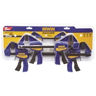 Irwin Quick-Grip 6 Piece Clamping Set