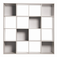 Clever Cube Compact 4 x 4 White Storage Unit