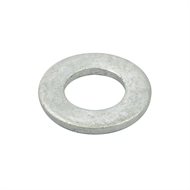 Zenith M16 Hot Dipped Galvanised Flat Metric Washers - 100 Pack