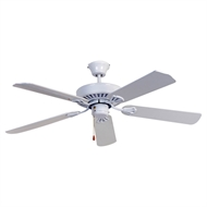 Mercator 130cm White Hayman Ceiling Fan