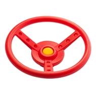 Swing Slide Climb Red Plastic Steering Wheel