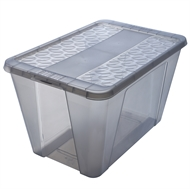 Ezy Storage 50L Snap Lock Storage Tub