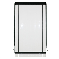 Marquee PVC Outdoor Cafe Blind - 2400mm x 2400mm Clear