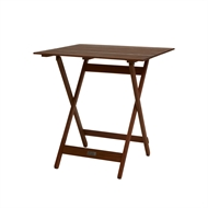 Mimosa 70 x 70 x 74cm Square Folding Timber Table