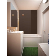 Bellessi 300 x 900 x 4mm Polymer Bathroom Panel - Bond