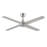Threesixty 52 Inch Brushed Nickel Velocity Ceiling Fan