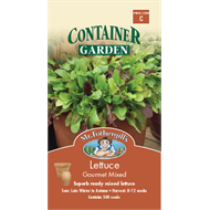 Mr Fothergill's Gourmet Mixed Lettuce Container Seeds