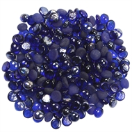 Tuscan Path 1kg Glass Nuggets - Blue
