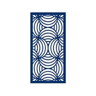 Protector Aluminium 1200 x 2400mm ACP Profile 10 Decorative Panel Unframed - Dark Blue