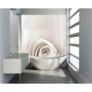 Bellessi 920 x 2000 x 4mm Motiv Polymer Bathroom Panel - White Lady