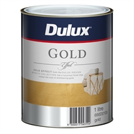 Dulux 1L Design Gold Effect Paint