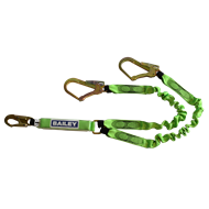 Bailey Fall Protection Twin Lanyard
