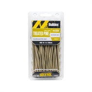 Buildex 10-8 x 100mm Treated Pine Countersunk Screws - Box of 100