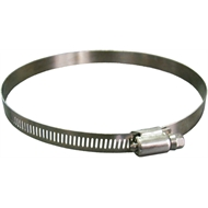 Kinetic 130 - 152mm 316 Marine Grade Stainless Steel Hose Clamp