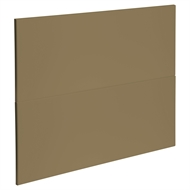 Kaboodle 900mm Golden Treacle Modern 2 Drawer Panels
