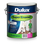 Dulux 4L Extra Bright Super Enamel Semi Gloss Paint