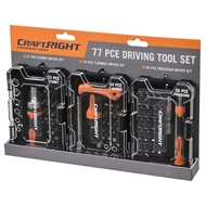 Craftright 77 Piece Driving Tool Set