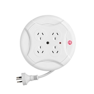 Arlec 4 Outlet Surge Protect Powerboard Disc