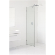 Highgrove 10 x 2000 x 875mm Frameless Glass Shower Panel Kit