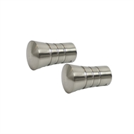 Windoware Delta Curtain Rod Finial