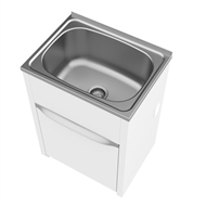 Eureka 45 Litre Standard Tub & Cabinet with By-Pass